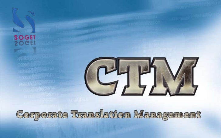 Corporate Translation Management By Soget
