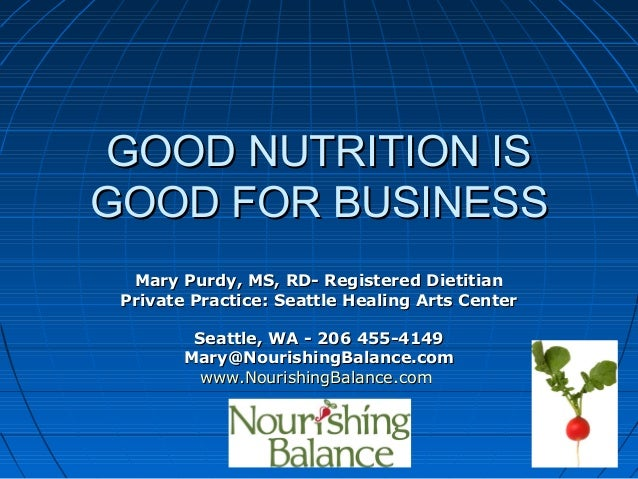 Mary Purdy, Registered Dietitian -Mary Purdy, Registered Dietitian - Nourishing Balance NutritionNourishing Balance Nutrit...