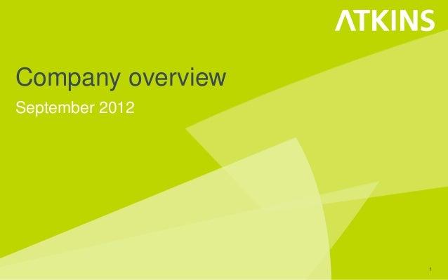 Atkins Corporate Presentation