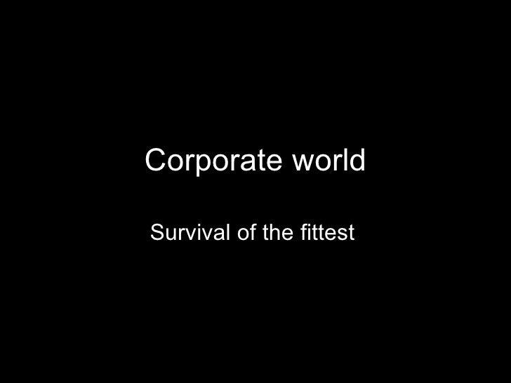 Corporate world