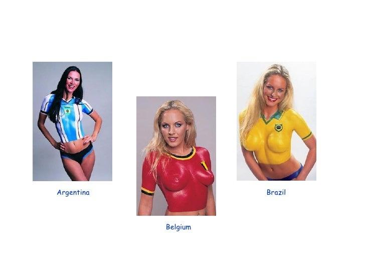 Argentina Belgium Brazil