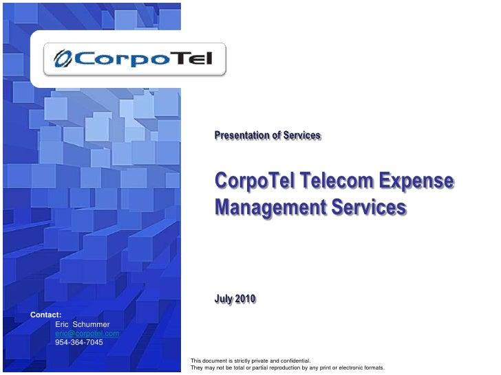 Corpotel  Services