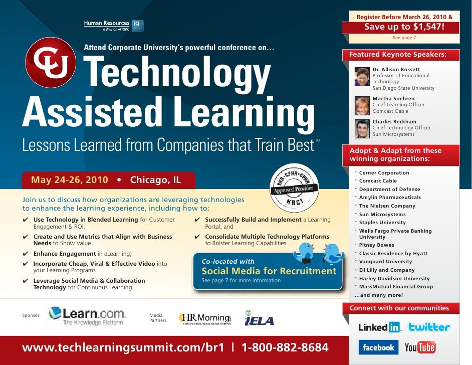 Technology Assisted Learning Summit