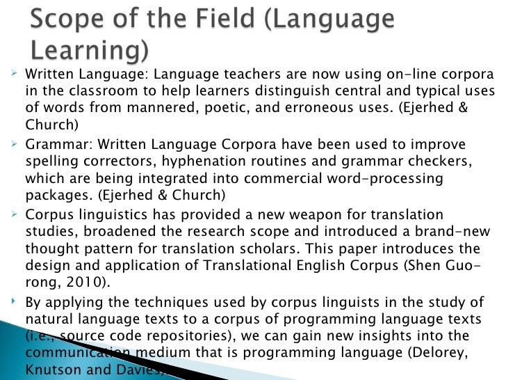 application of linguistics of english language Tesol is an acronym for teachers of english to speakers of other languages professionals in tesol may be involved in teaching, administration, curriculum development, materials development, assessment, research, and advocacy.