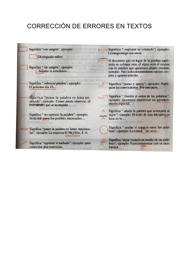 CorreccióN De Errores En Textos