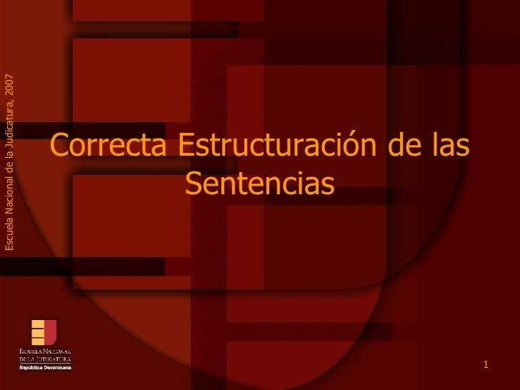ENJ-1-100-Correcta Redacción de Sentencias