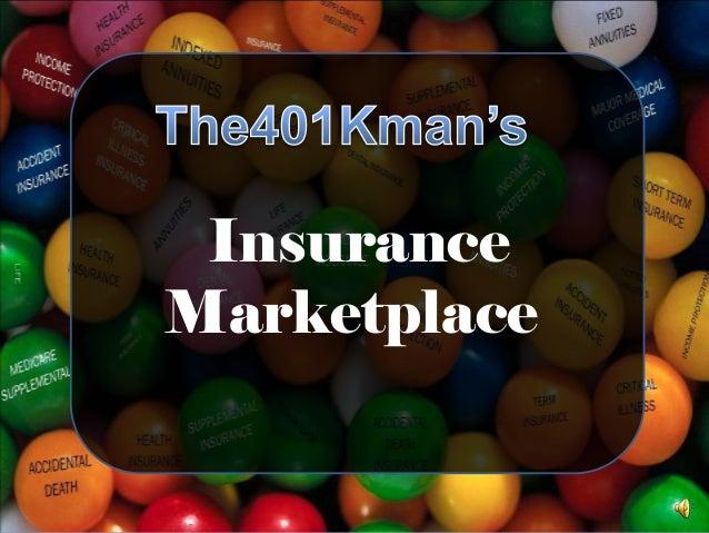 The401kman's Insurance Marketplace