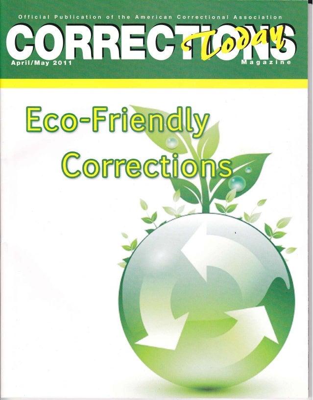 Corrections Today Eco Freindly Corrections-Green Entrepreneur