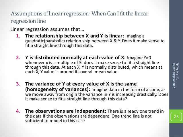 "correlation and linear regression analysis mini project Linear correlation linear regression analysis and conclusions using the bivariate data collected in the ""data collection"" part of the project, develop a."