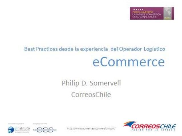 Presentación: Philip D. Somervell - Workshop Santiago 29/11/13