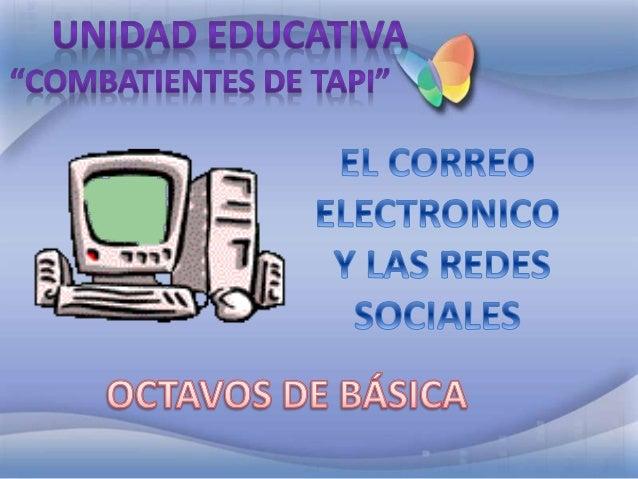 INTRODUCCIÓN UTILIDADES DIRECCIÓNDECORREO ELECTRÓNICO INTRODUCCIÓN TIPOSDEREDES SOCIALES ANONIMATO EJEMPLO CORREO ELECTRON...