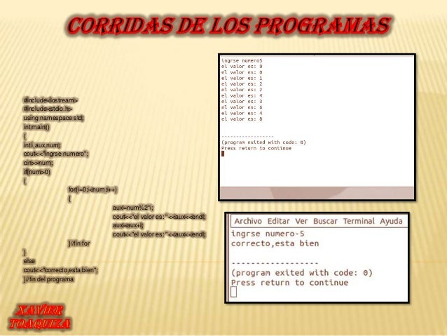 "#include<iostream>#include<stdio.h>using namespace std;int main(){int i,aux,num;cout<<""ingrse numero"";cin>>num;if(num>0){ ..."