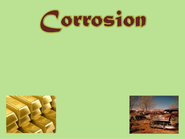 Corrosion-Dr. Surendran Parambadath