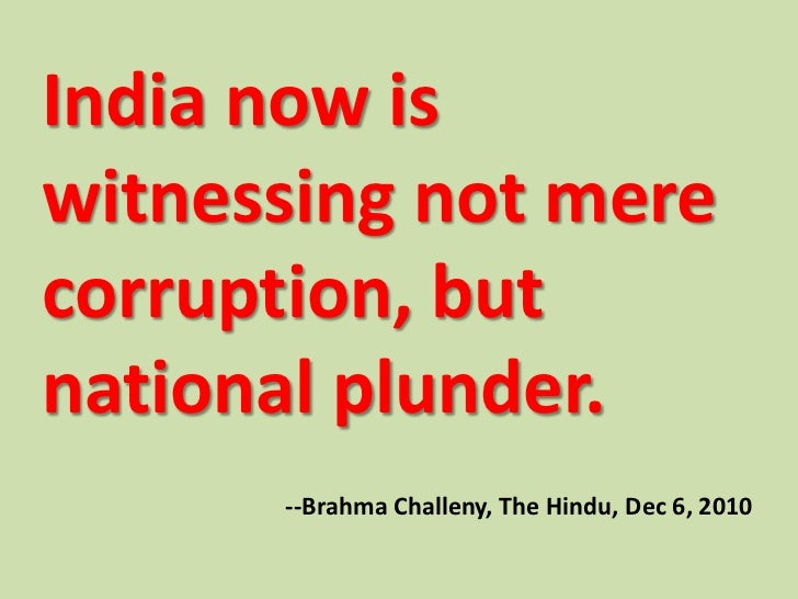 3 Words Essay on Corruption in India (free to read)