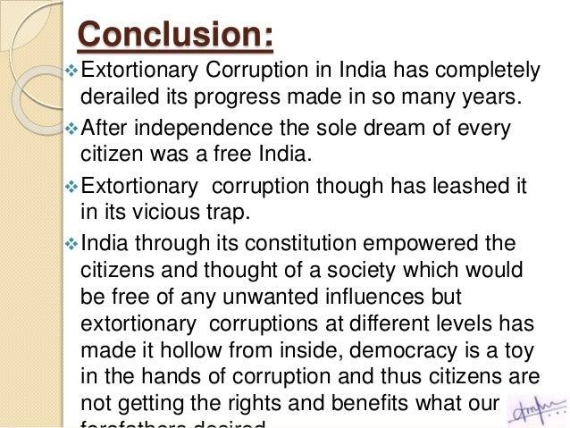 Corruption free india essay 500 words