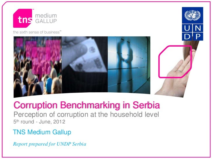 Corruption Benchmarking in Serbia