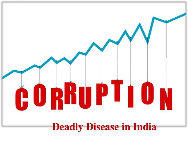 Corruption in economy with examples