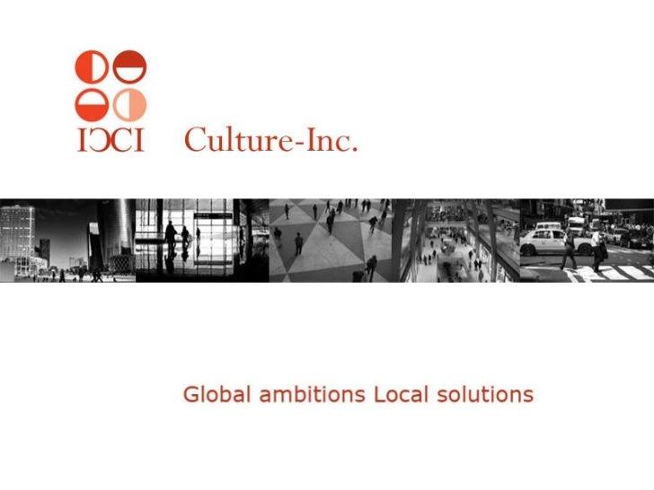 Grensgevallen: corruptie, Culture Inc