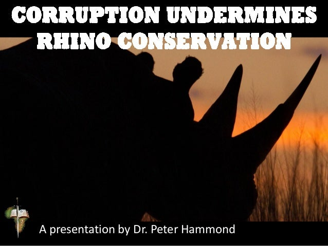 A presentation by Dr. Peter Hammond
