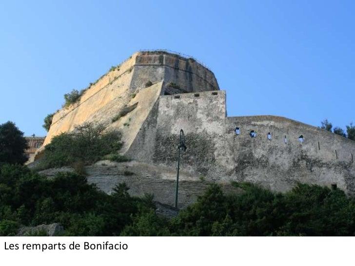 Les remparts de Bonifacio<br />