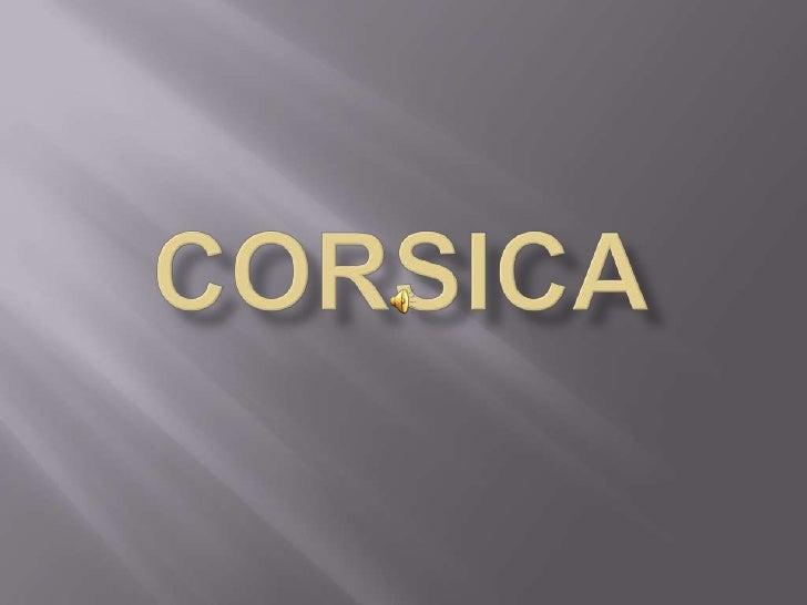 Corsica<br />