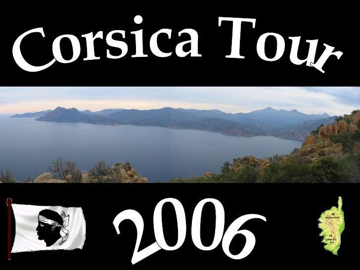 Corsica Tour 2006