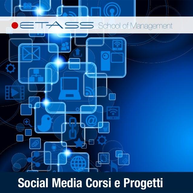 Catalogo Corsi e Progetti Social Media
