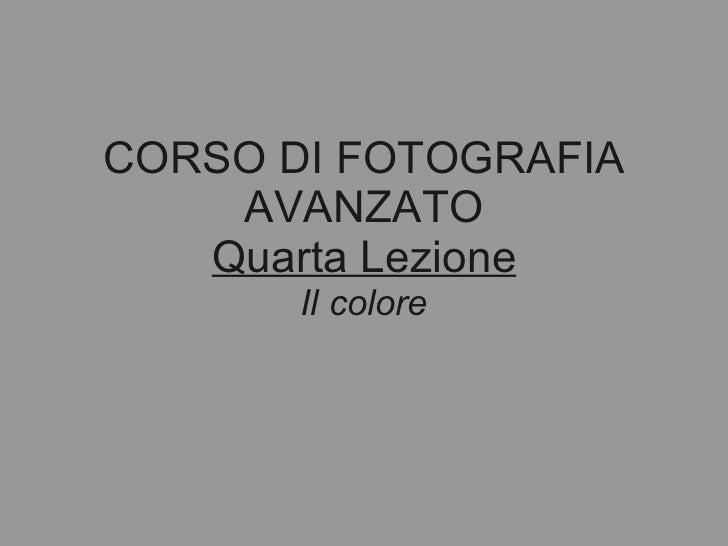 Corso avanzato 2011_04