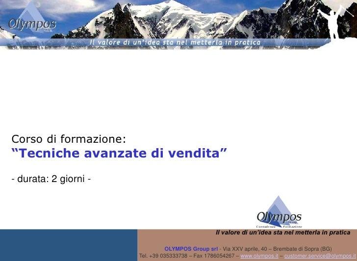Corso tecniche avanzate_di_vendita