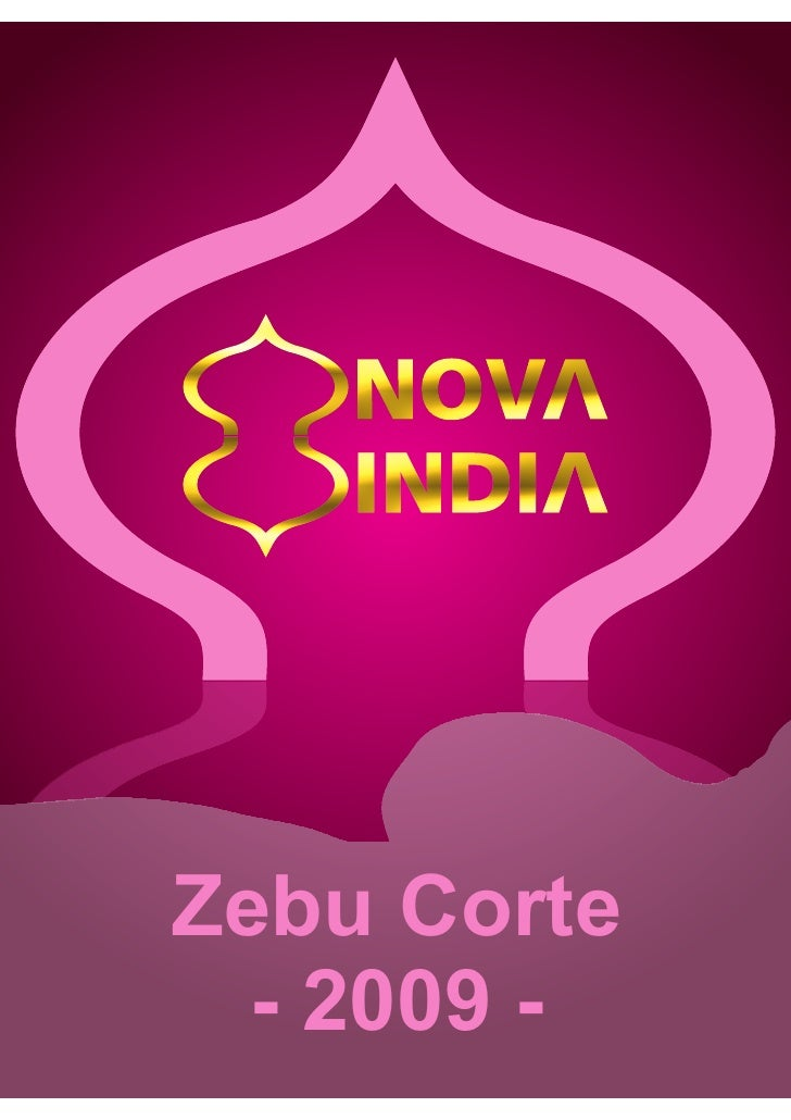 Zebu Corte   - 2009 -