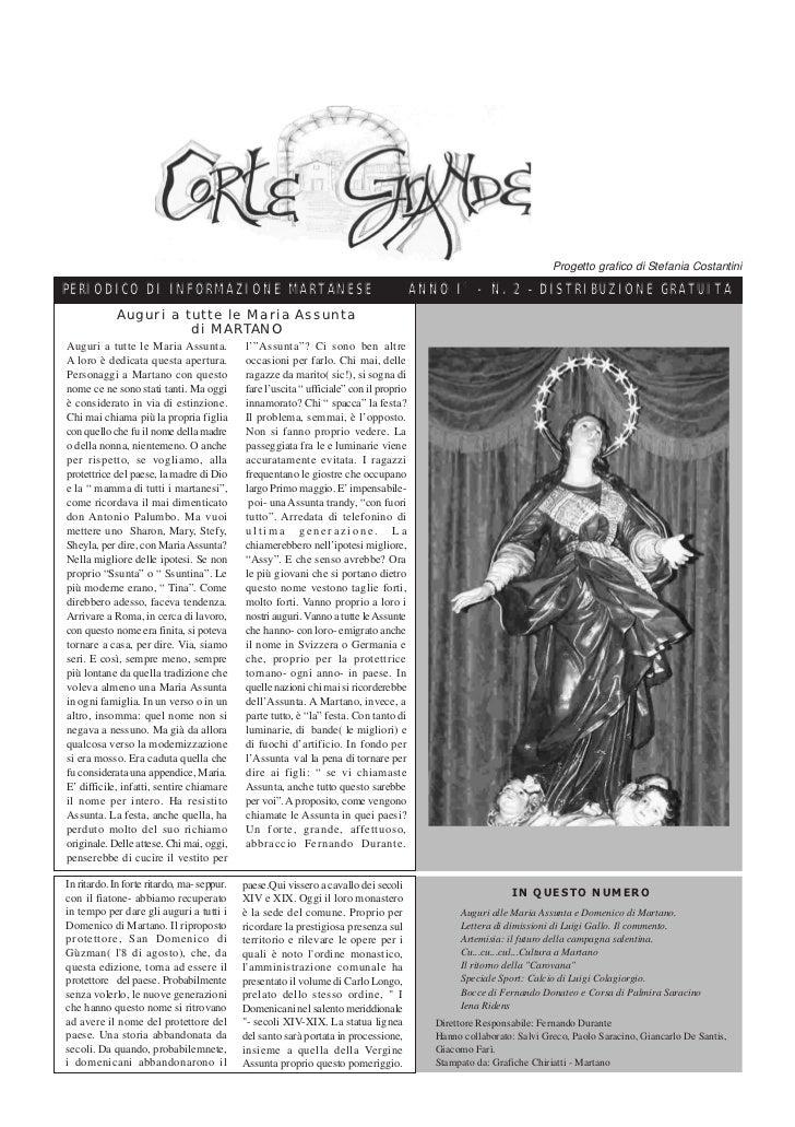 Corte Grande N°  2 - Agosto 2005