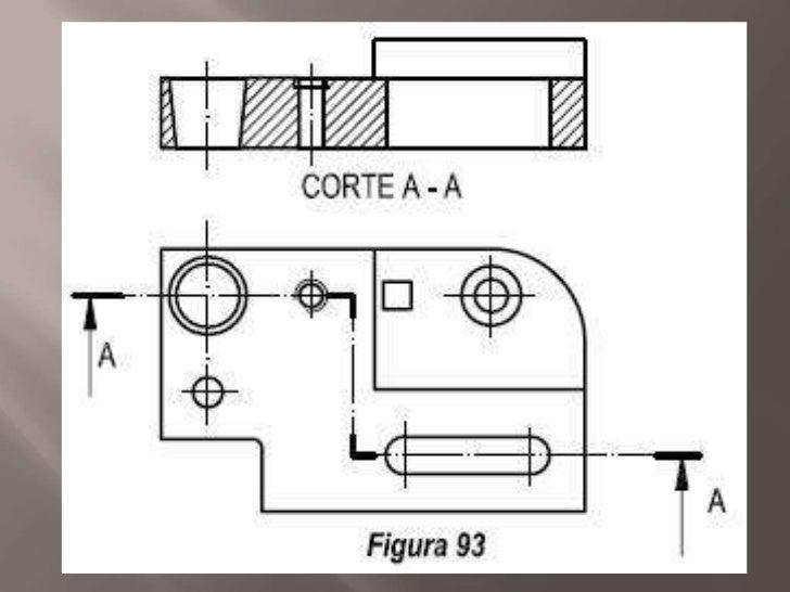 Cortes y secciones final for Arquitectura nota de corte