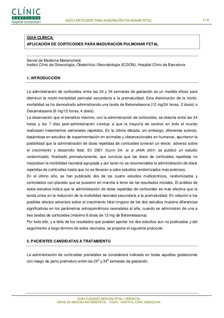 Corticoides para maduracion_pulmonar