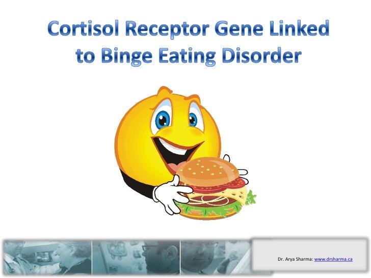 Cortisol Receptor Gene Linked to Binge Eating Disorder<br />