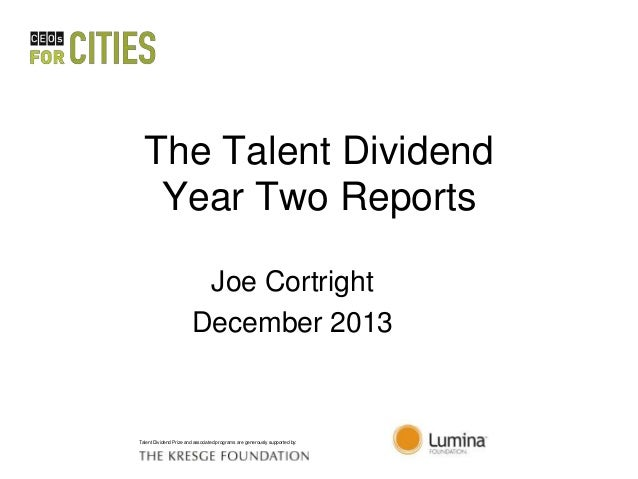 Talent Dividend Degree Award Report Chattanooga- TN-GA Metropolitan Area (CBSA) Post-Secondary Degrees Awarded, 2009 Data ...