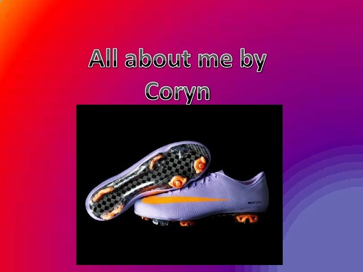 All about me by Coryn<br />