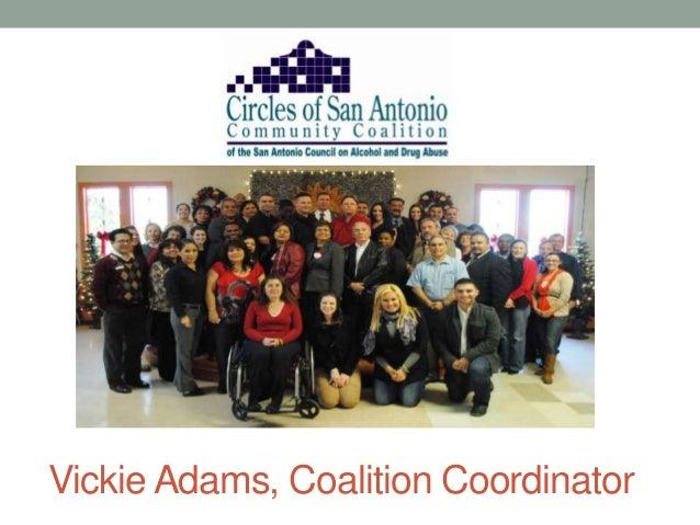 Vickie Adams, Coalition Coordinator