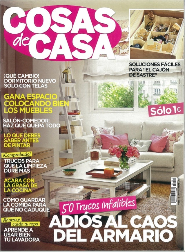 Cosas de casa 225 for Cosas de casa online