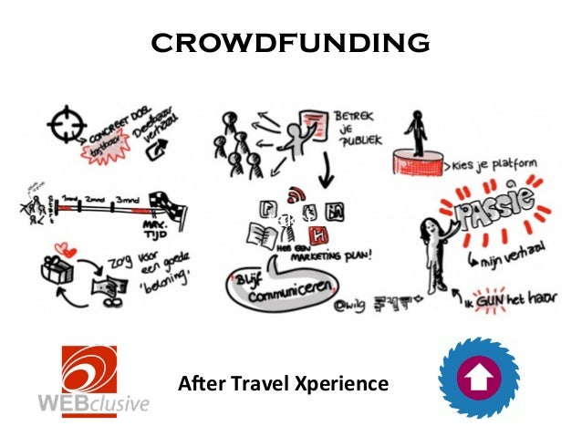 """crowdfunding            tekst A""""er Travel Xperience"""