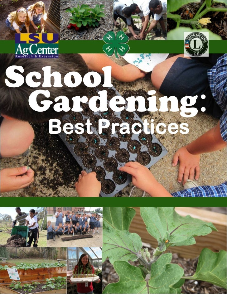 CO: School Gardening Best Practices