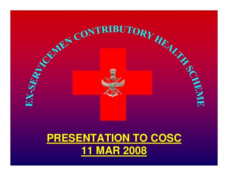 PRESENTATION TO COSC      11 MAR 2008       1