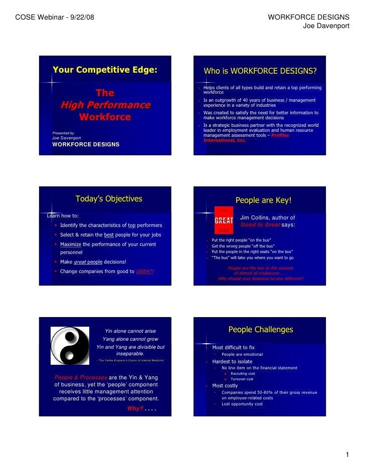Hiring and Managing Smarter Webinar