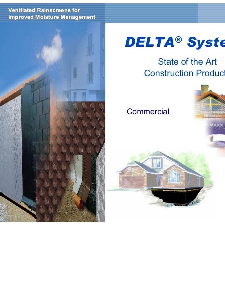 Ventilated Rainscreens forVentilated Rainscreens forImproved Moisture ManagementImproved Moisture Management              ...