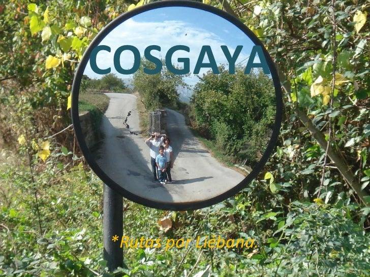 COSGAYA *Rutas por Liébana.