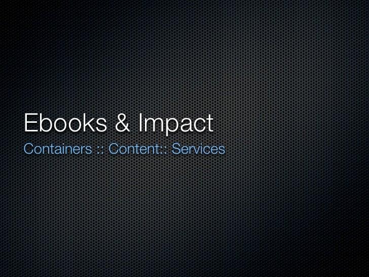 COSLINE eBook Workshop
