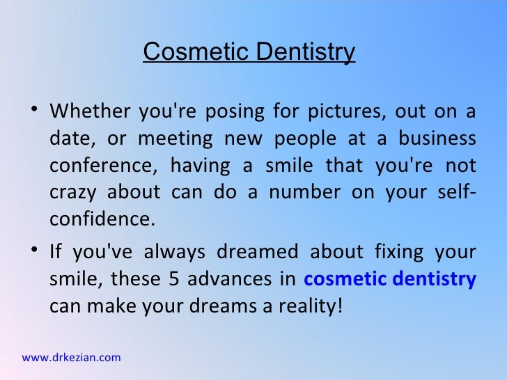 Cosmetic Dentistry • Whether youre posing for pictures, out on a   date, or meeting new people at a business   conference,...