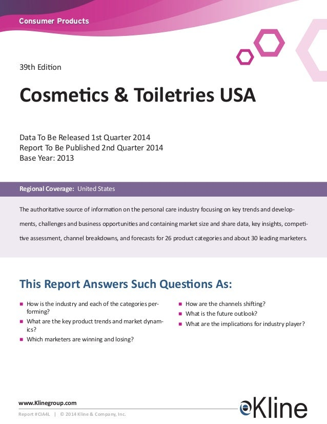 Cosmetics & Toiletries USA