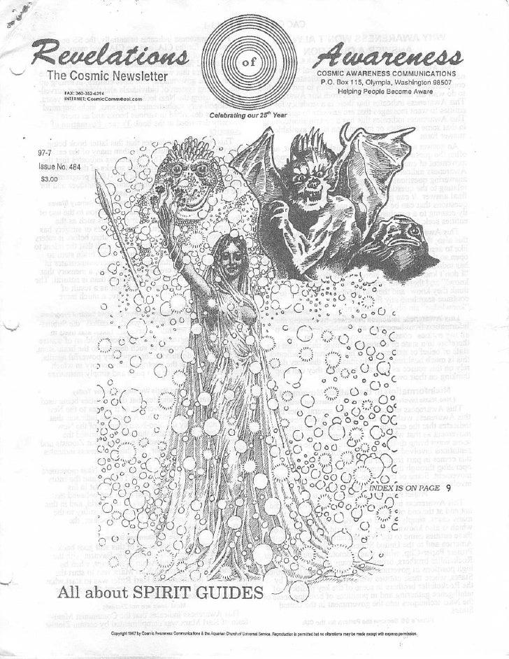 "Cosmic Awareness 1997-07: ""The Submarines""-Stolen Children for Mind Control Programs"