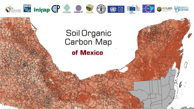 Soil organic carbon map of mexico for Soil organic carbon