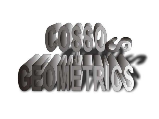 Un cos geomètric és una forma queocupa un espai, és a dir, que té volum.    Als cossos geomètrics també     se'ls pot anom...